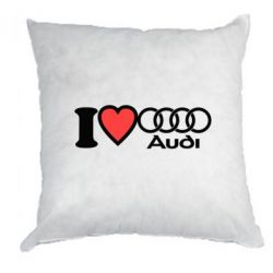 Подушка I love audi - FatLine