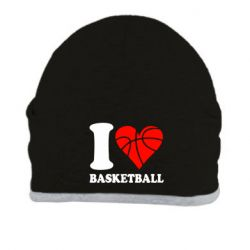 Шапка I love basketball - FatLine