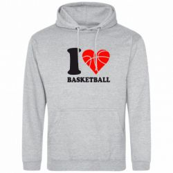 Толстовка I love basketball