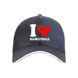 кепка I love basketball - FatLine