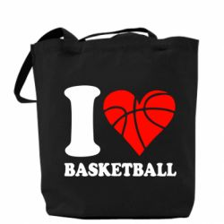 Сумка I love basketball
