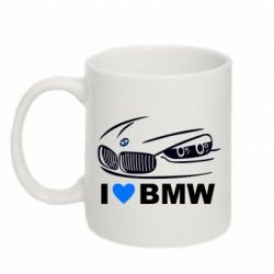 Кружка 320ml I love BMW 2 - FatLine