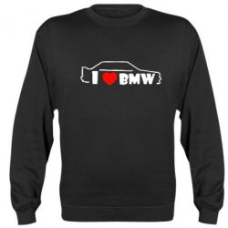 Реглан I love BMW - FatLine