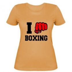 Женская I love boxing - FatLine
