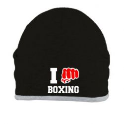 Шапка I love boxing - FatLine