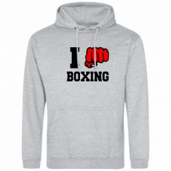 Толстовка I love boxing - FatLine