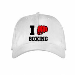 Детская кепка I love boxing - FatLine