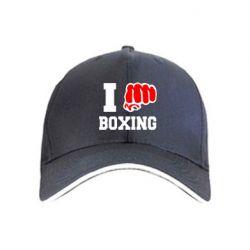 кепка I love boxing - FatLine