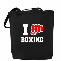 Сумка I love boxing - FatLine