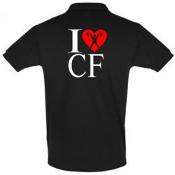 Футболка Поло I love CF - FatLine