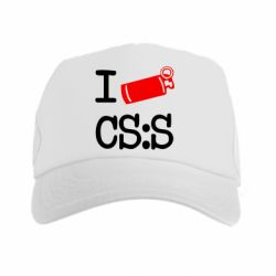 Кепка-тракер I love CS Source