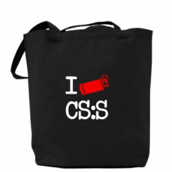 Сумка I love CS Source - FatLine