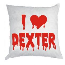 Подушка I love Dexter - FatLine