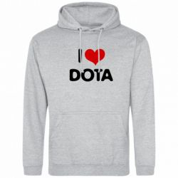 Толстовка I love Dota - FatLine