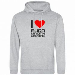 Толстовка I love Euromaydan Ukraine - FatLine