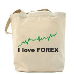 Сумка I love FOREX - FatLine