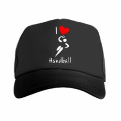 Кепка-тракер I love handball 2 - FatLine