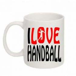 Кружка 320ml I love handball 3 - FatLine