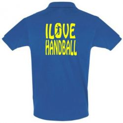 Футболка Поло I love handball 3 - FatLine