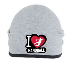 Шапка I love handball - FatLine