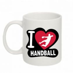 Кружка 320ml I love handball