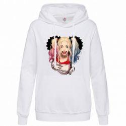 Женская толстовка I love Harley Quinn - FatLine
