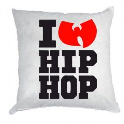 Подушка I love Hip-hop Wu-Tang - FatLine