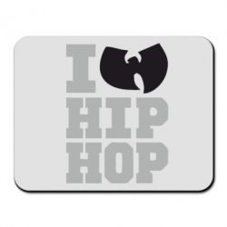 Коврик для мыши I love Hip-hop Wu-Tang - FatLine