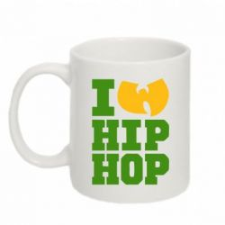 Кружка 320ml I love Hip-hop Wu-Tang - FatLine