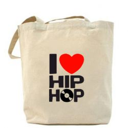 Сумка I love hip-hop - FatLine