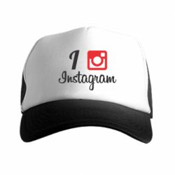 Кепка-тракер I love Instagram - FatLine