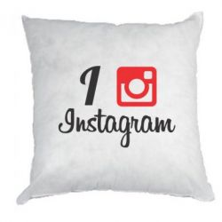 Подушка I love Instagram - FatLine