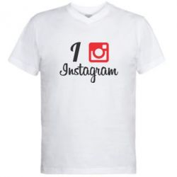 ������� ��������  � V-�������� ������� I love Instagram - FatLine