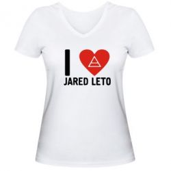 ������� �������� � V-�������� ������� I love Jared Leto