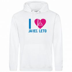 Толстовка I love Jared Leto