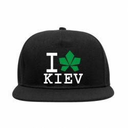 Снепбек I love Kiev - с листиком - FatLine