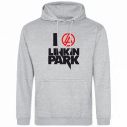 Толстовка I love Linkin Park - FatLine