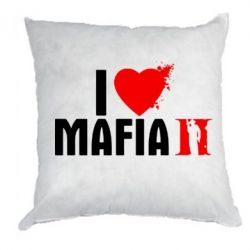 Подушка I love Mafia 2 - FatLine