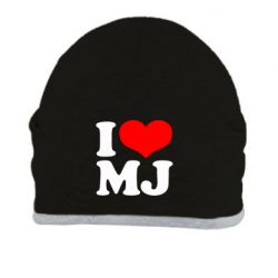 Шапка I love MJ - FatLine