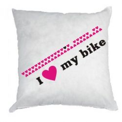 Подушка I love my bike - FatLine