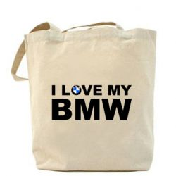 Сумка I love my BMW - FatLine