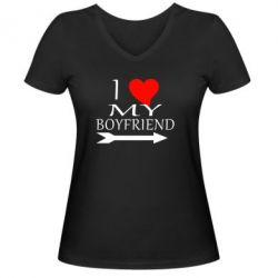 ������� �������� � V-�������� ������� I love my boyfriend - FatLine