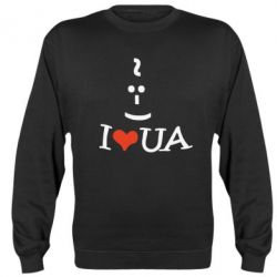 Реглан I love my UA