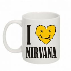 Кружка 320ml I love Nirvana - FatLine