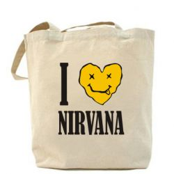 Сумка I love Nirvana - FatLine