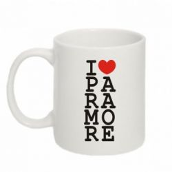 Кружка 320ml I love Paramore - FatLine