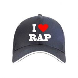 кепка I love rap - FatLine
