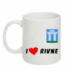 Кружка 320ml I love Rivne - FatLine