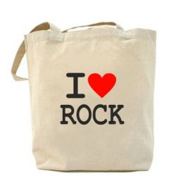 Сумка I love rock - FatLine