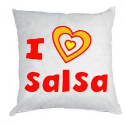 Подушка I love Salsa - FatLine